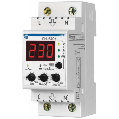 Реле контроля напряжения Новатек-Электро РН-240T