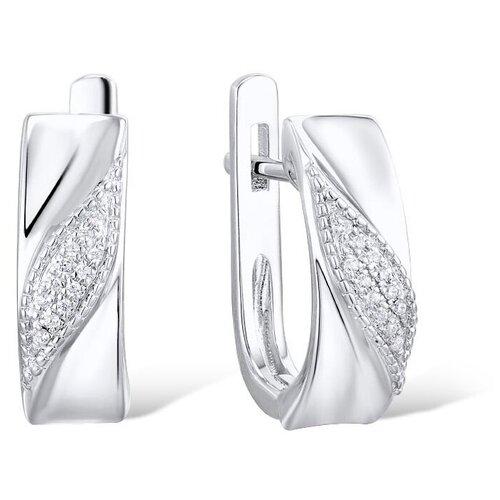 VALTERA Серьги с бриллиантами из серебра 117810 серьги из серебра valtera 41997