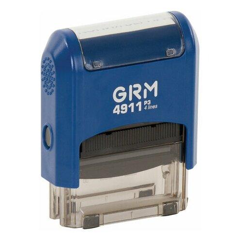 Фото - Штамп стандартный копия верна, оттиск 38х14 мм синий, GRM 4911 Р3, 110491140, 1 шт. штамп trodat 4911 прямоугольный копия верна черно серый корпус синий