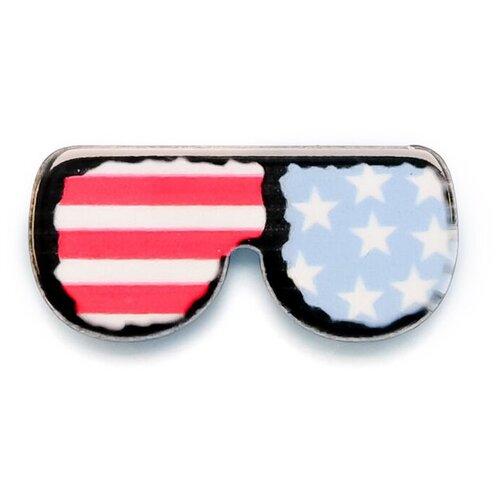OTOKODESIGN Значок бижутерный Американские очки 52793