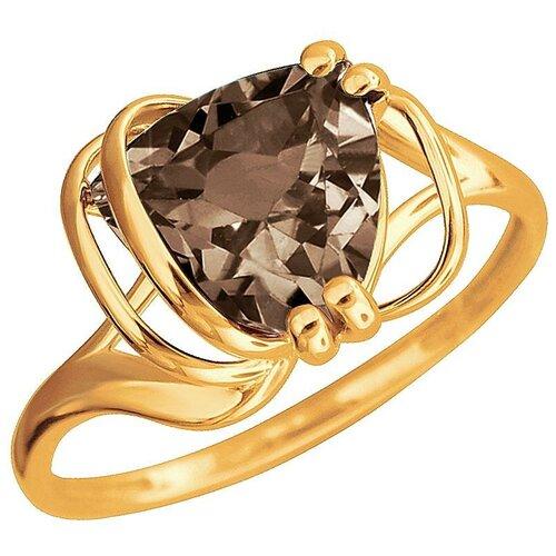 Эстет Кольцо с 1 раухтопазом из красного золота 01К3112170-2, размер 17 эстет кольцо с лазуритом и бриллиантами из жёлтого золота 01к6313305 2 размер 17