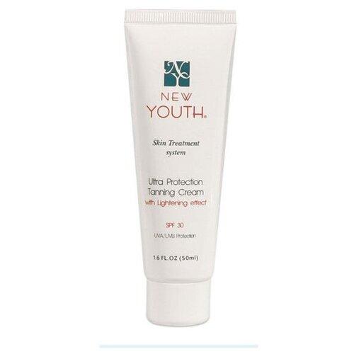 Крем сверхзащитный тонирующий New Youth Ultra Protection Tanning Cream SPF 30