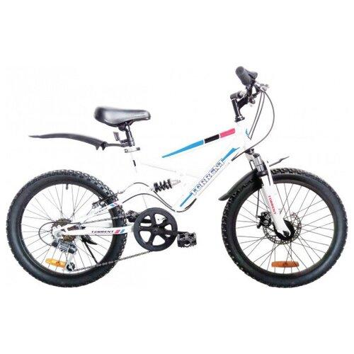 Велосипед Torrent Spider Голубой белый