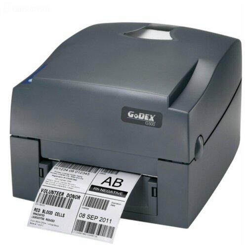 Фото - Термотрансферный принтер этикеток Godex GE500 UES (5 ips, втулка 1) 011-G50EM2-004 godex g530 use