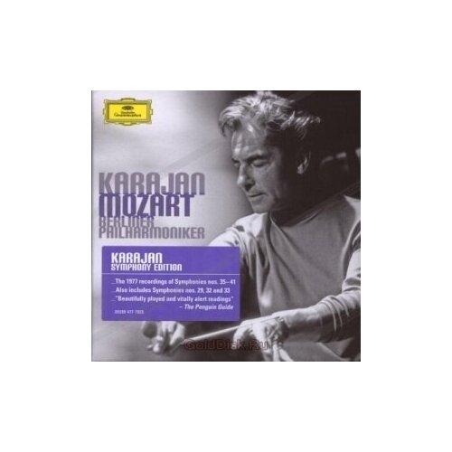Компакт-диски, Deutsche Grammophon, HERBERT VON KARAJAN - Mozart: Late Symphonies (3CD) виниловая пластинка herbert von karajan offenbach overtures 0028948363988