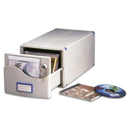 Фото - Бокс для CD/DVD дисков на 30 шт, замок, ProfiOffice, сер, МВ-30SL рок волна 1 cd dvd