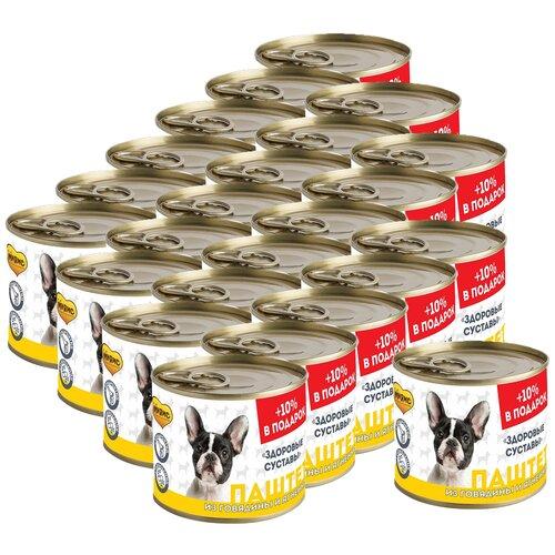 Фото - Мнямс Паштет из говядины и ягненка для собак всех пород «здоровые суставы» 220 г х 24 шт. консервы мнямс кусочки в соусе с говядиной и печенью для собак всех пород здоровые суставы 400 г