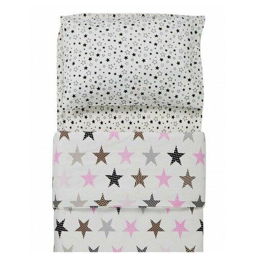 Фото - Постельное белье Forest Rock Star (3 предмета) Розовый постельное белье forest anchor 3 предмета