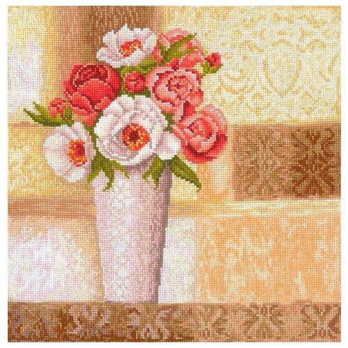 Набор для вышивания Сделай своими руками ССР.В-25 Винтажные розы 26х27 см