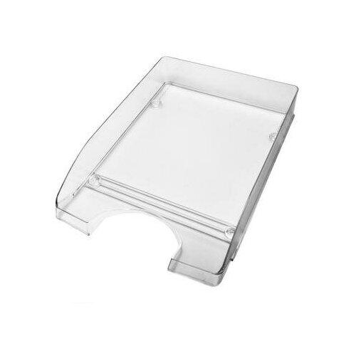Купить Лоток для бумаг горизонтальный Attache Line прозрачный 2 шт., Лотки для бумаги