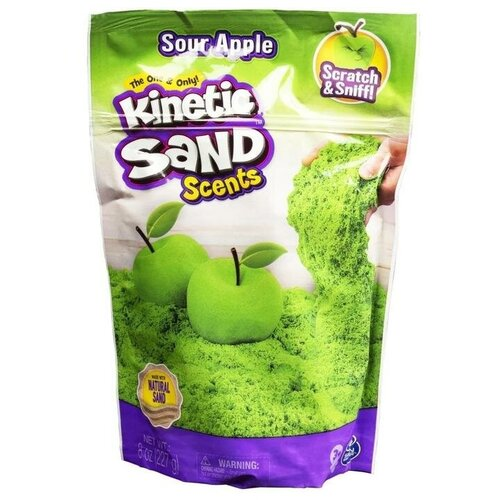 Kinetic Sand Набор для лепки Кинетический песок с ароматом яблока 6053900 недорого