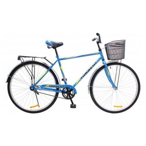 Велосипед Torrent Romantic + корзина, голубой