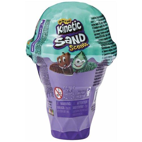 Кинетический песок Kinetic sand мини, Мороженое (6058757)