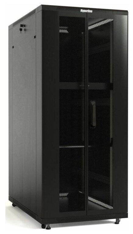 <b>Шкаф</b> <b>напольный</b> 19-дюймовый Hyperline TTB-4782-DD-RAL9004