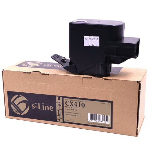 Фото - Тонер-картридж булат s-Line 80C8HM0 для Lexmark CX410 (Пурпурный, 3000 стр.) тонер картридж lexmark 76c00m0 пурпурный