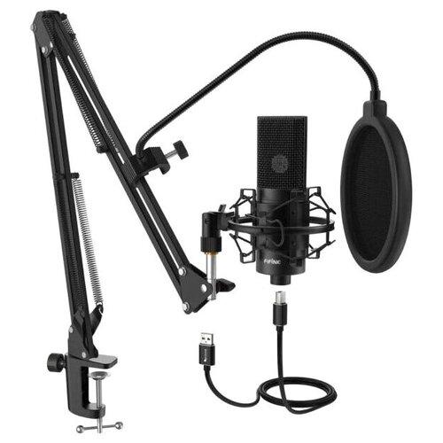 Конденсаторный студийный USB-микрофон FIFINE K780 со стойкой и поп-фильтром