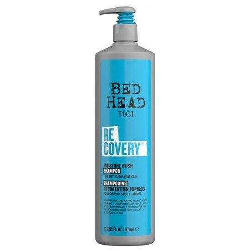 Шампунь увлажняющий TIGI Bed Head Recovery для сухих и поврежденных волос, 970 мл tigi bed head cтайлинговый крем для укладки бороды и волос tigi bh 100 мл