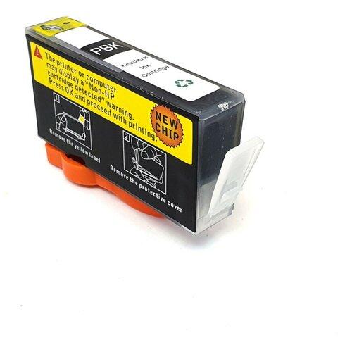 Фото - Картридж Black для HP Deskjet Ink Advantage 3525, 6525, 4625, 5525, 4615 (PL-CZ109AE, 655), совместимый, черный, PL-CZ109AE-655BK чернила hp 655 hp655 для hp deskjet 3525 5525 6525 4615 4625 набор 9 предметов инструкция совместимые