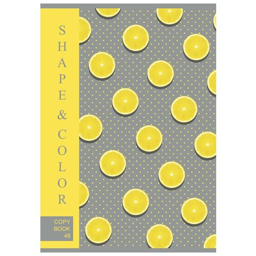BG Комплект тетрадей Lemon Style Т4ск48 9719, 3 шт., клетка, 48 л.