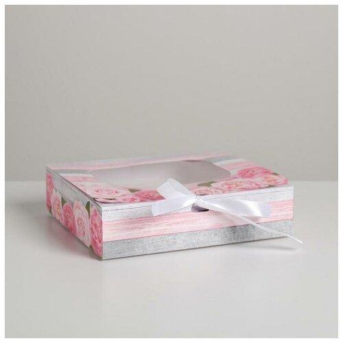 Фото - Складная коробка подарочная Тебе, 20 х 18 х 5 см подарочная коробка дарите счастье 3122698 складная коробка с днем рождения