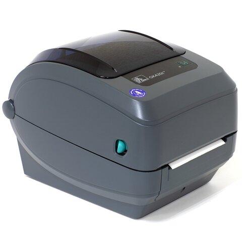 Принтер этикеток Zebra GK420t, серый