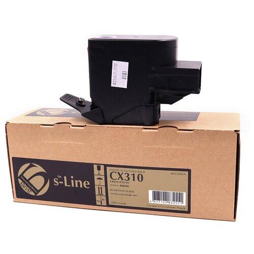 Фото - Тонер-картридж булат s-Line 80C8SM0 для Lexmark CX310 (Пурпурный, 2000 стр.) тонер картридж lexmark 76c00m0 пурпурный