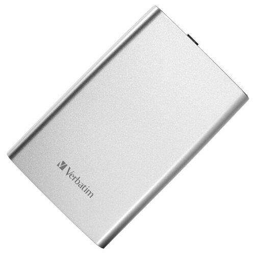 Фото - Жесткий диск Verbatim Store n Go 2Tb USB 3.0 Silver 53189 внешний hdd verbatim store n go 2tb 53665 space grey