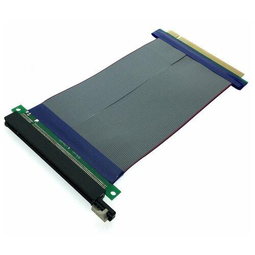Кабель удлинитель PCI-E x16 (Male) to PCI-E x16 (Female), модель EPCIEM-PCIEFX16, Espada аксессуар адаптер espada usb riser card pci e x1 male to pci e x16 female epciekit ver009s