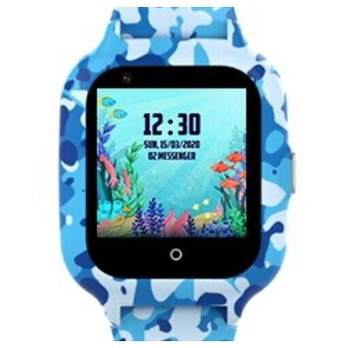 Часы Smart Baby Watch KT22S Wonlex голубые часы smart baby watch q11 синие