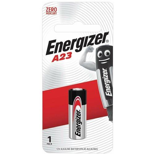 Батарейка ENERGIZER, A23 (23АЕ), алкалиновая, для сигнализаций, 1 шт., в блистере