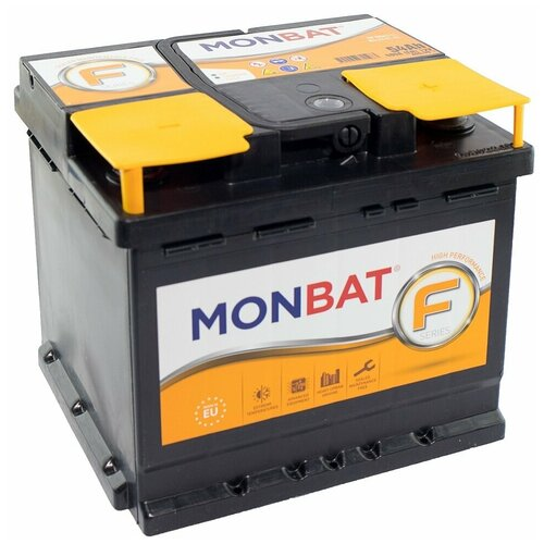 Автомобильный аккумулятор MONBAT FORMULA 54 Ач 480 А (обратная полярность)