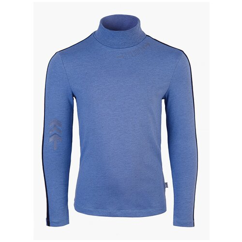 Водолазка Nota Bene размер 140, серо-голубой блузка nota bene размер 122 голубой