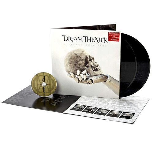 Sony Music Dream Theater. Distance Over Time (CD, виниловая пластинка)
