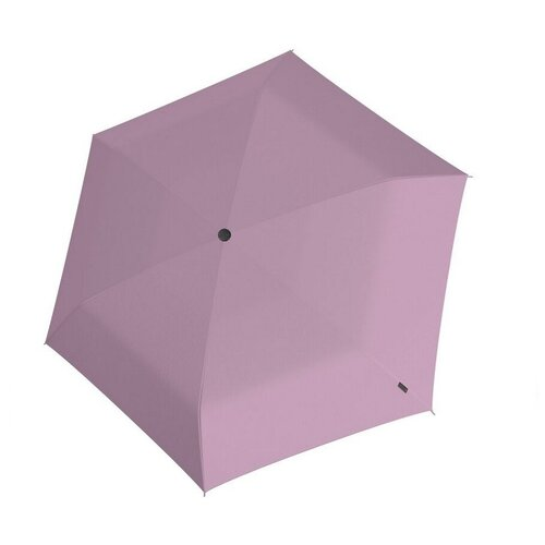 Зонт Knirps механический US.050 Ultra Light Slim Manual ROSÉ WITH BLACK COATING