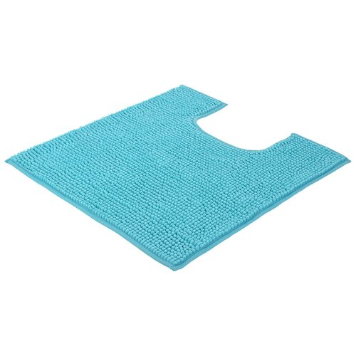 Фото - Коврик для ванной SPA 60*55 СМ под унитаз (голубой) VORTEX 24267 коврик для ванной spa 50 80 бежевый vortex 10