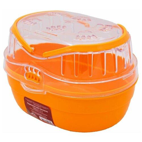Переноска для грызунов KARRY'ON малая ассорти,оранжевый