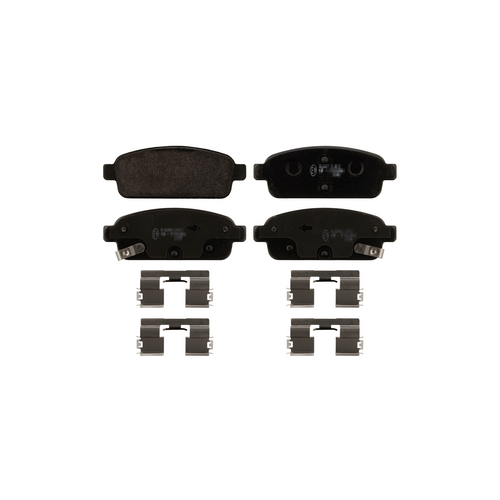 BOSCH 0 986 494 435 (0542039 / 0542040 / 05P1575) колодки дисковые задние с антискрип. пл.\ Opel (Опель) astra, Chevrolet (Шевроле) cruze 1.4-2.0 09>