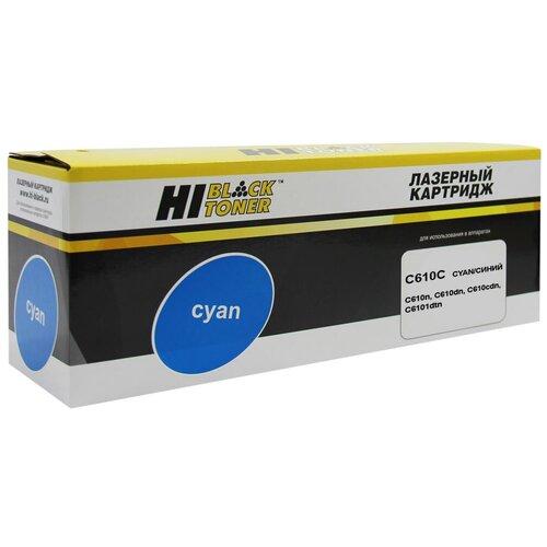 Фото - Тонер-картридж Hi-Black (HB-44315323/44315307) для OKI C610, C, 6K тонер картридж oki c610 6k cyan