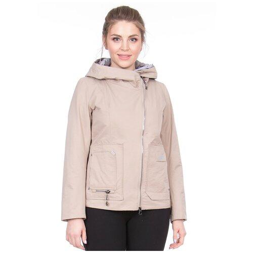 Фото - Куртка Mishele, размер 50, бежевый куртка icepeak 650010588iv размер 140 бежевый