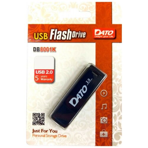 Флеш Диск Dato 32Gb DB8001 DB8001K-32G USB 2.0 черный