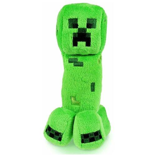 Детская мягкая игрушка ВсеИгрушки / Плюшевый Крипер Creeper из игры Майнкрафт (Minecraft) для детей, мальчиков и девочек