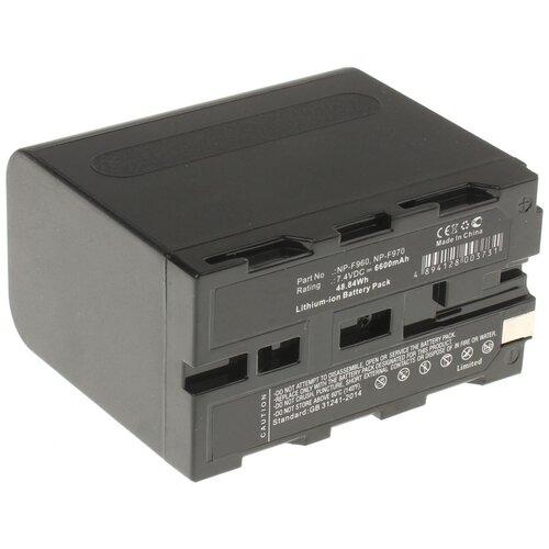 Аккумуляторная батарея iBatt 6600mAh для Sony TRV56E, HVR-Z1E, DSR-200, DCR-TRV310E, CCD-TR311E, CCD-TR840E, CCD-TRV46E, DCR-TRV520E, CCD-TRV26E