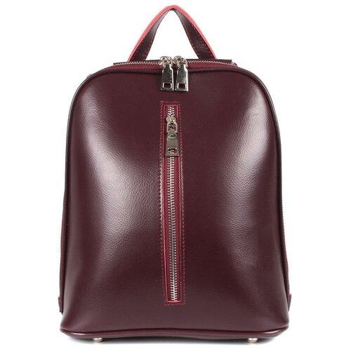 Фото - Рюкзак женский натуральная кожа MEYNINGER СВ268/бордовый, модель рюкзак рюкзак 605030 бордовый
