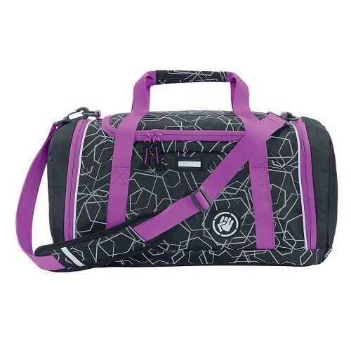 Фото - Сумка спортивная Coocazoo SporterPorter Laser Refl, black/pink сумка спортивная coocazoo sporterporter springman мятный