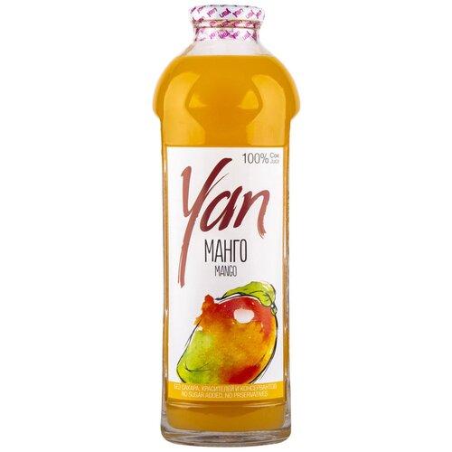 Фото - Сок Yan Манго, без сахара, 0.93 л без брэнда сок яблочный без сахара yan