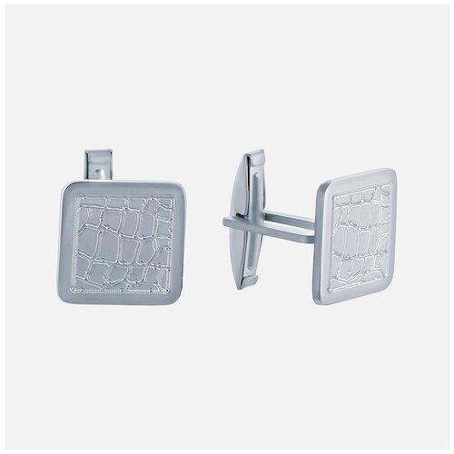 ELEMENT47 Запонки из серебра 925 пробы G98_ZP_WG