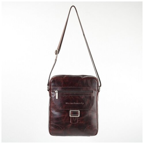 Мужская сумка-планшет Maxsimo Tarnavsky 1039 коричневая