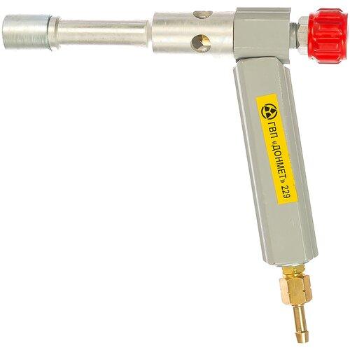 Фото - Газосварочная горелка инжекторная ДОНМЕТ ГВП-229 газосварочная горелка инжекторная донмет гзу 247