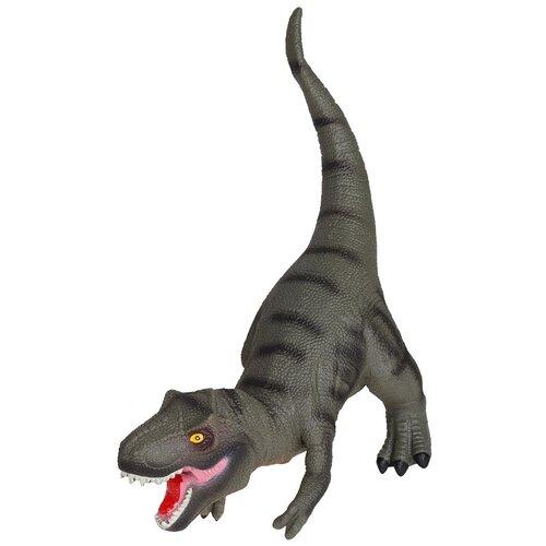 Купить Игрушка для детей Динозавр ТМ КОМПАНИЯ ДРУЗЕЙ , серия Животные планеты Земля , с чипом, звук - рёв животного, игрушечное животное, дикий игрушечный зверь, эластичный пластик, 46X19.0X35.0 см, Компания Друзей, Игровые наборы и фигурки