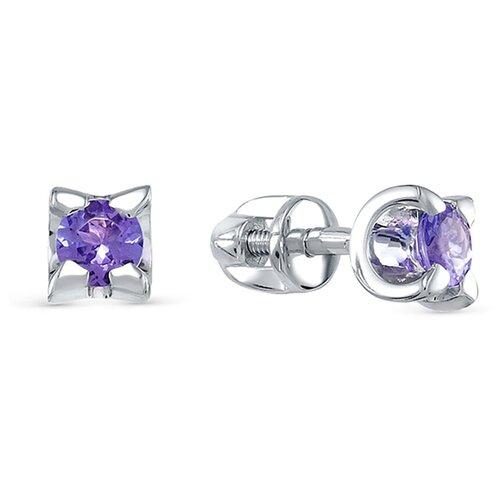 серьги vesna jewelry 4022 251 164 00 Vesna jewelry Серьги-пусеты 79358 (4104-251-147-00)